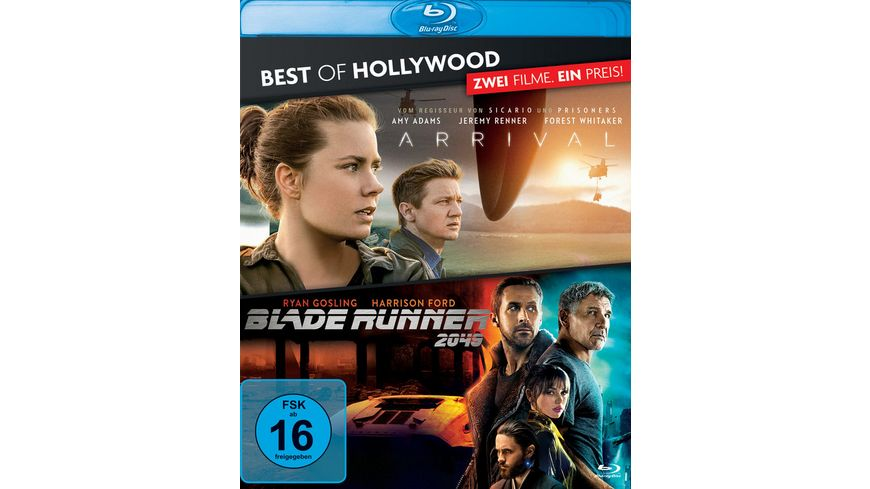 Arrival Blade Runner 2049 Best of Hollywood 2 BRs
