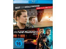 Arrival Blade Runner 2049 Best of Hollywood 2 BRs