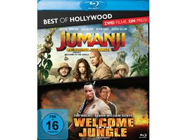 Jumanji Willkommen im Dschungel Welcome to the Jungle Best of Hollywood 2 BRs