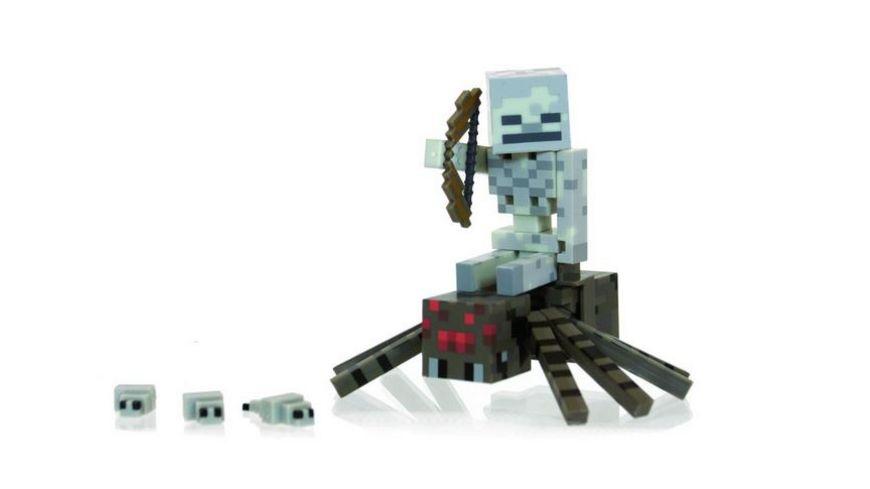 Minecraft Sammelfigur Spider Jockey Pack