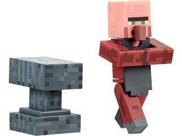 Minecraft Sammelfigur Schmied mit Accessoire