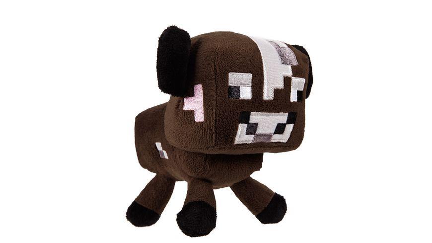 Minecraft Plüsch braune Kuh