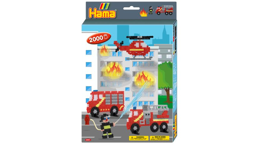Hama Kleine Geschenkpackung Feuerwehr