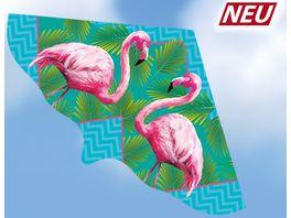Guenther Flugmodelle Einleiner Drachen aus Folie Flamingo