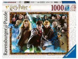 Ravensburger Puzzle Der Zauberschueler Harry Potter 1000 Teile