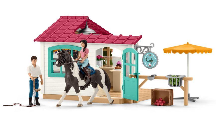 Schleich 42519 Horse Club Reiter Cafe