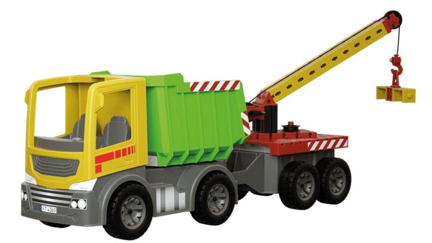 fischertechnik JUNIOR Easy Starter L Grosser Einsteiger Baukasten mit neuen grossen Bauelementen