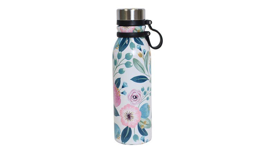 TRENDSHOP Isolierflasche Superior Flower 0,55l