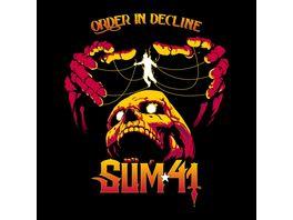 Order In Decline Lim Translucent Orange Vinyl