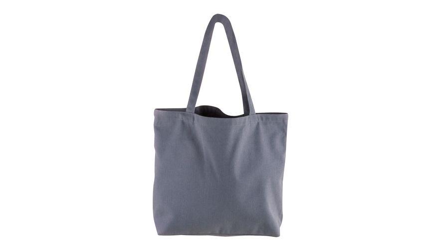 Rayher Basic Shopper grau 46x35cm