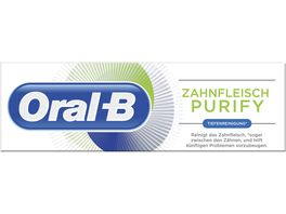 Oral B Zahnpasta Zahnfleisch Purify Tiefenreinigung