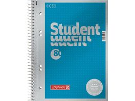 BRUNNEN Collegeblock Student A5 dotted