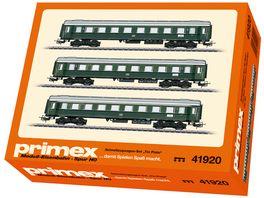 Maerklin 41920 Schnellzugwagen Set Tin Plate