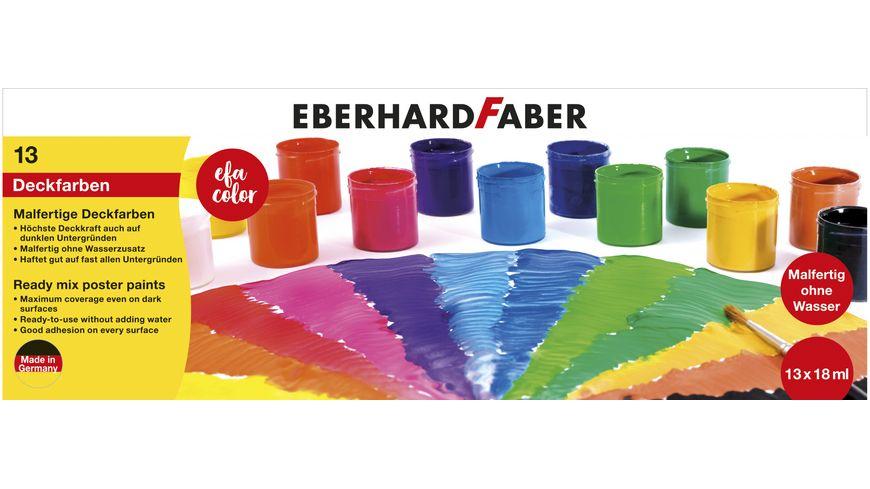 EBERHARD FABER  COLOR Malfertige Deckfarben