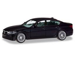 Herpa 420372 BMW 5er Limousine schwarz