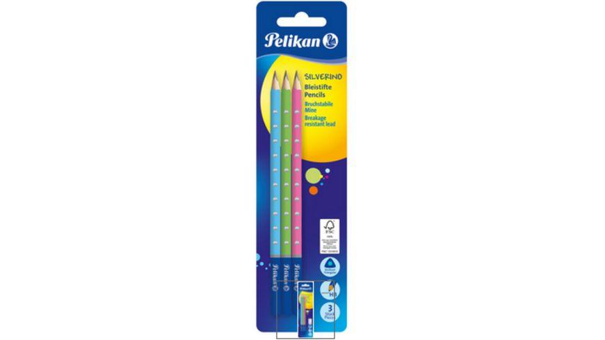 Pelikan Bleistift Silverino 3er Pack