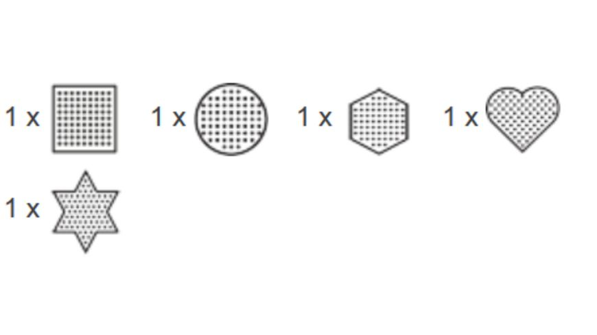 Hama Stiftplattensortiment midi5 5 Platten