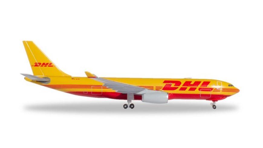 Herpa 532969 DHL Aviation European Air Transport Airbus A330 200F