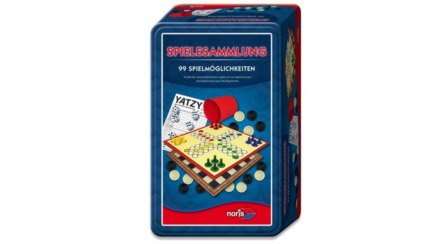 Noris Spiele 99iger Spielesammlung in der Metallbox
