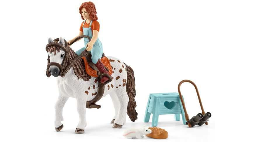 Schleich 42518 Horse Club Mia Spotty