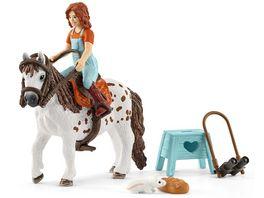 Schleich 42518 Horse Club Mia Spotty