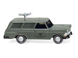 Wiking 007148 1 87 Fernmeldedienst Opel Rekord 60 Caravan