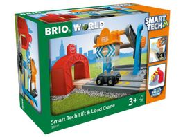 BRIO Bahn Smart Tech Verladekran