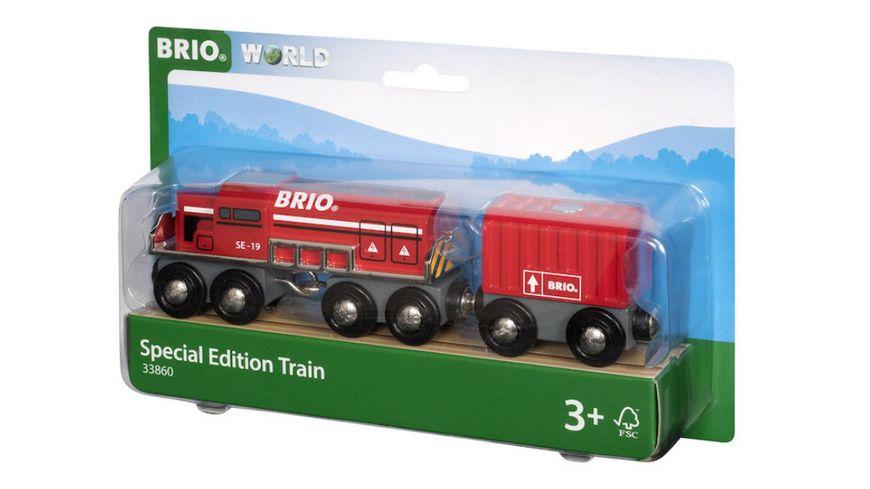 BRIO Bahn Roter Frachtzug Special Edition 2019