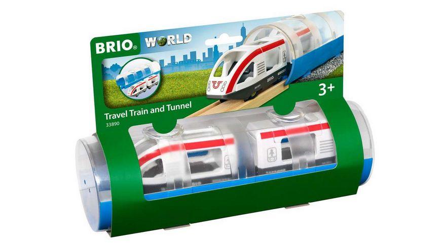 BRIO Bahn Tunnel Box Reisezug