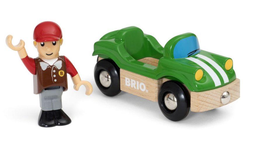 BRIO Bahn Sportwagen mit Fahrer