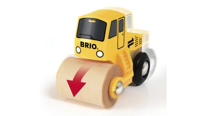 BRIO Bahn Spielpaeckchen Strassenbaustelle