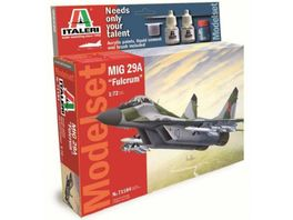 Italeri 510071184 1 72 MIG 29A Fulcrum Model Set