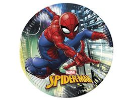 Procos Marvel Spiderman Team up Party Teller 23cm 8 Stueck