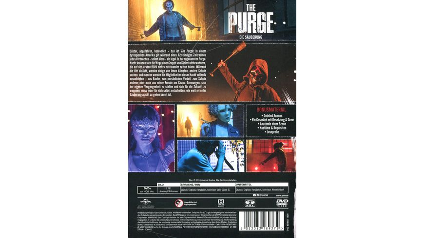 The Purge Die Saeuberung Staffel 1 2 DVDs