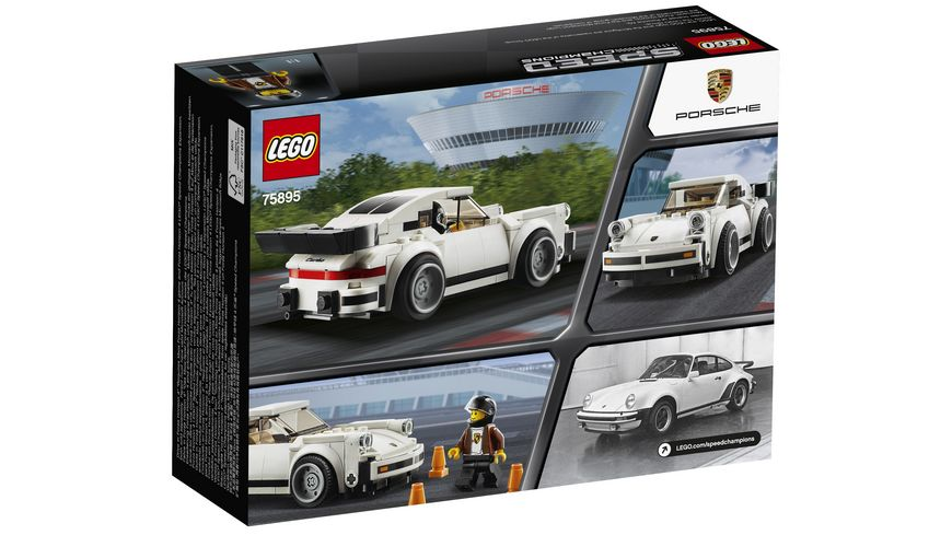 LEGO Speed Champions 1974 Porsche 911 Turbo 3 0