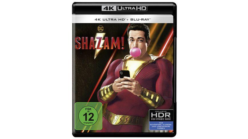 Shazam 4K Ultra HD Blu ray 2D