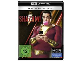 Shazam 4K Ultra HD Blu ray 2D