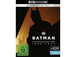 Batman 1 4 4K Collection 4K Ultra HD Blu rays 8 Discs