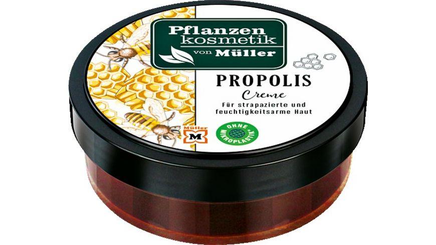 Pflanzenkosmetik von Mueller Propoliscreme