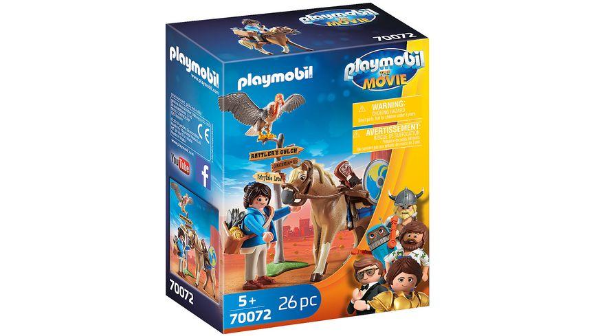 PLAYMOBIL 70072 PLAYMOBIL THE MOVIE Marla mit Pferd
