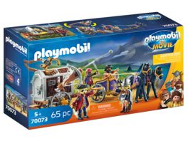 PLAYMOBIL 70073 PLAYMOBIL THE MOVIE Charlie mit Gefaengniswagen