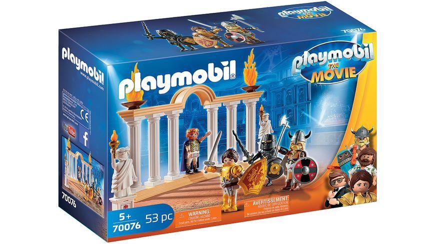 PLAYMOBIL 70076 PLAYMOBIL THE MOVIE Kaiser Maximus im Kolosseum