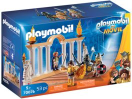 PLAYMOBIL 70076 PLAYMOBIL THE MOVIE Kaiser Maximus im Kolosseum