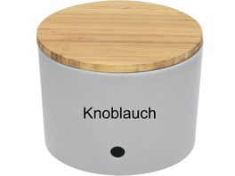 magu Knoblauchtopf Natur Design Silver