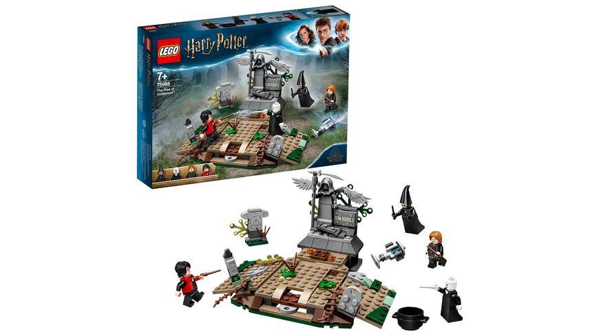 LEGO Harry Potter 75965 Der Aufstieg von Voldemort