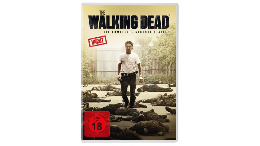 The Walking Dead Staffel 6 Uncut 6 DVDs