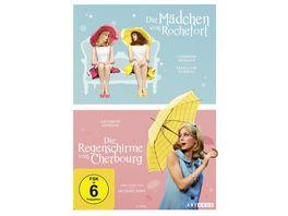 Die Regenschirme von Cherbourg Die Maedchen von Rochefort Digital Remastered OmU 2 DVDs