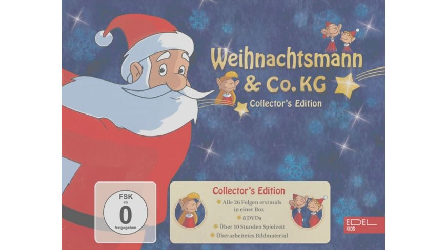Weihnachtsmann Co KG TV Serie Collector s Edition 8 DVDs