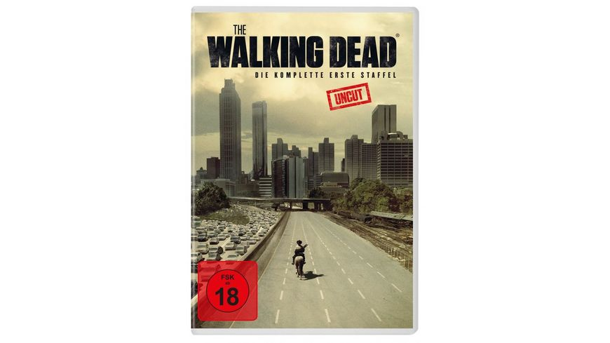 The Walking Dead Staffel 1 Uncut 2 DVDs