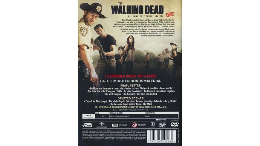The Walking Dead Staffel 2 Uncut 3 DVDs